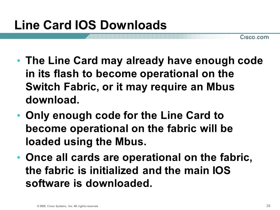 Line Card IOS Downloads