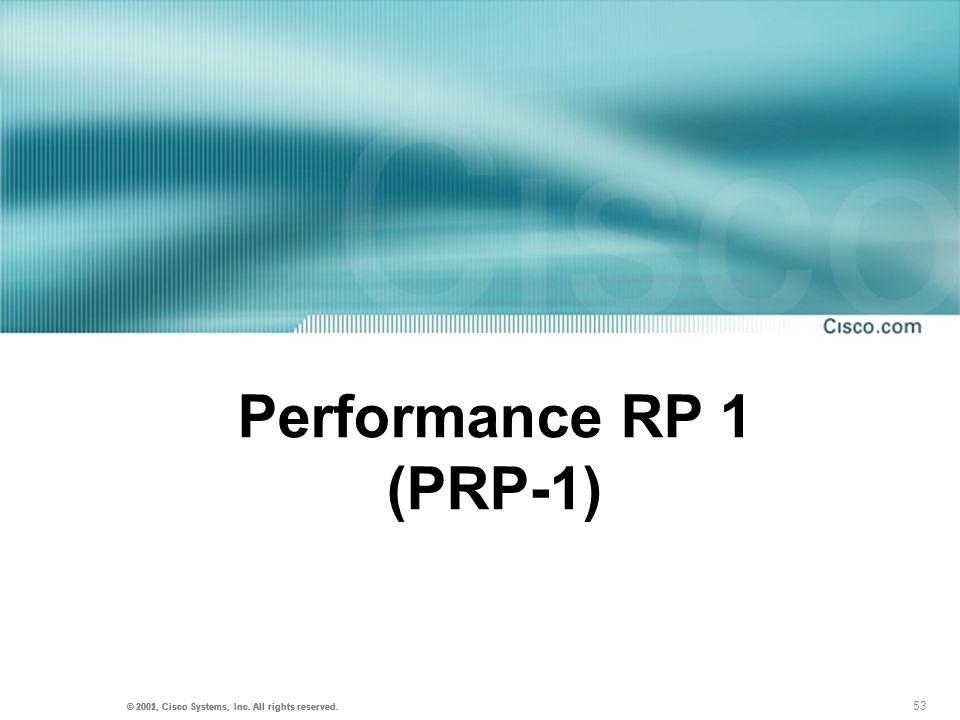 Performance RP 1 (PRP-1)