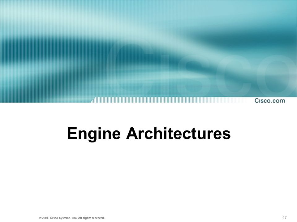 Engine Architectures