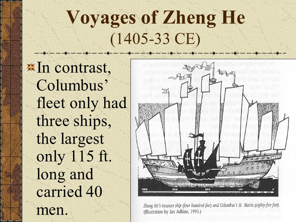 Voyages of Zheng He (1405-33 CE)