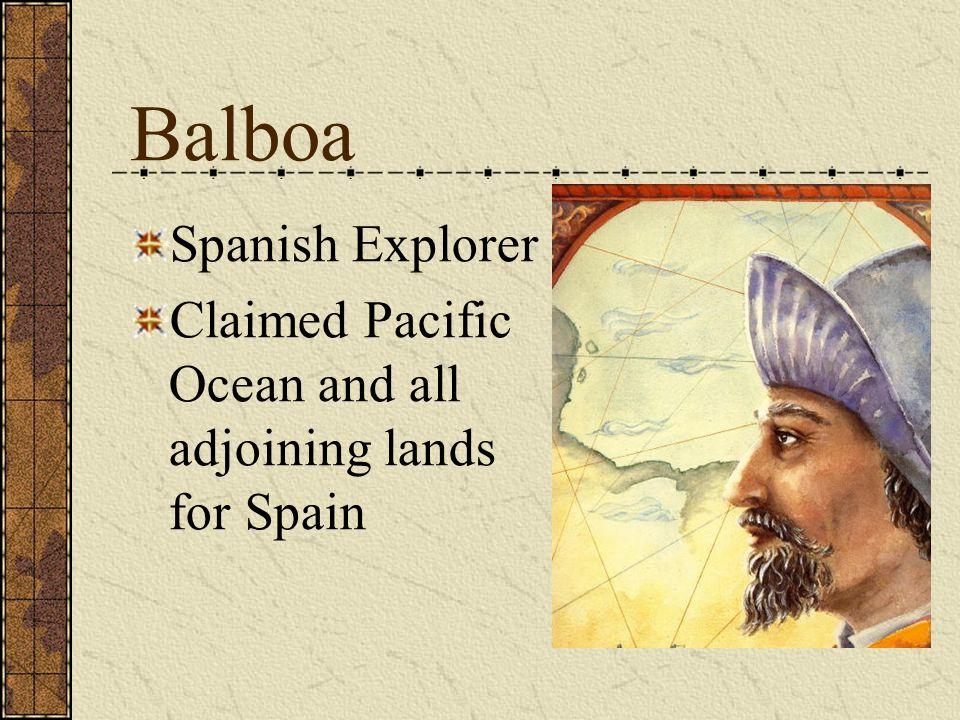 Balboa Spanish Explorer