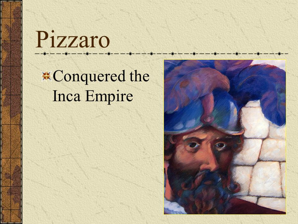 Pizzaro Conquered the Inca Empire