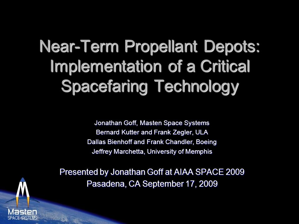 Near-Term Propellant Depots: Implementation of a Critical Spacefaring Technology