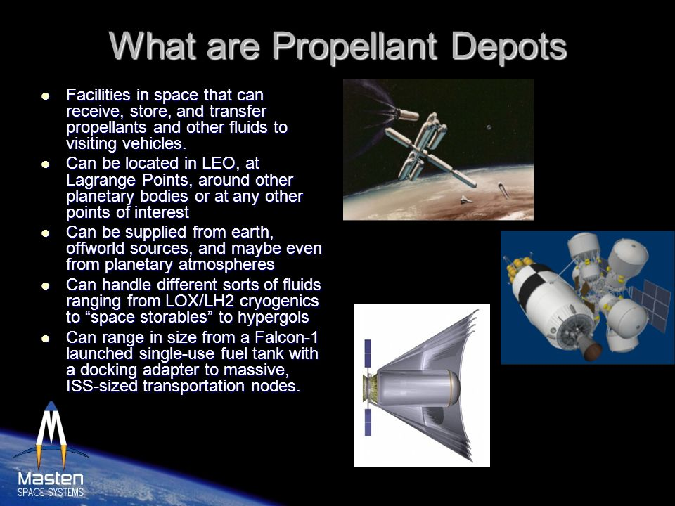 What are Propellant Depots