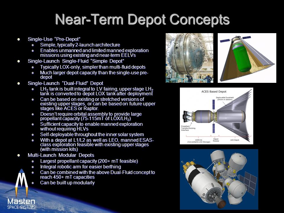 Near-Term Depot Concepts