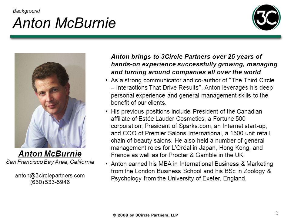 Background Anton McBurnie