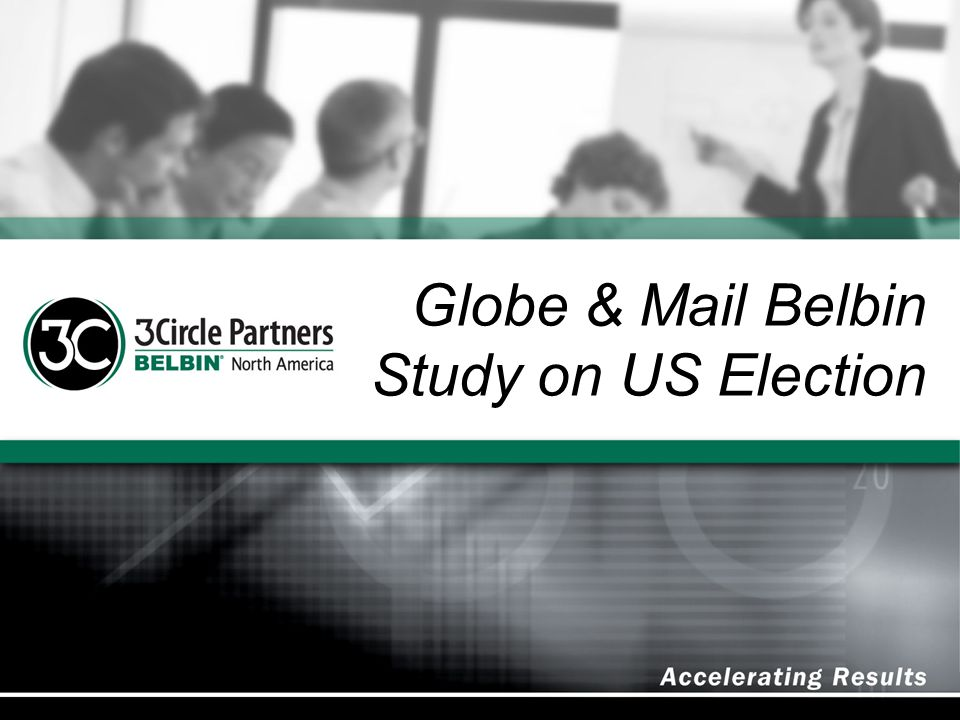 Globe & Mail Belbin Study on US Election