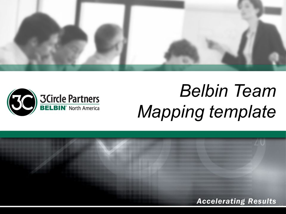 Belbin Team Mapping template