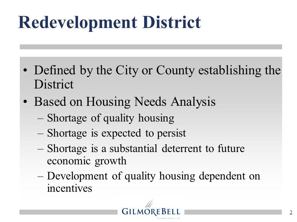 Redevelopment District