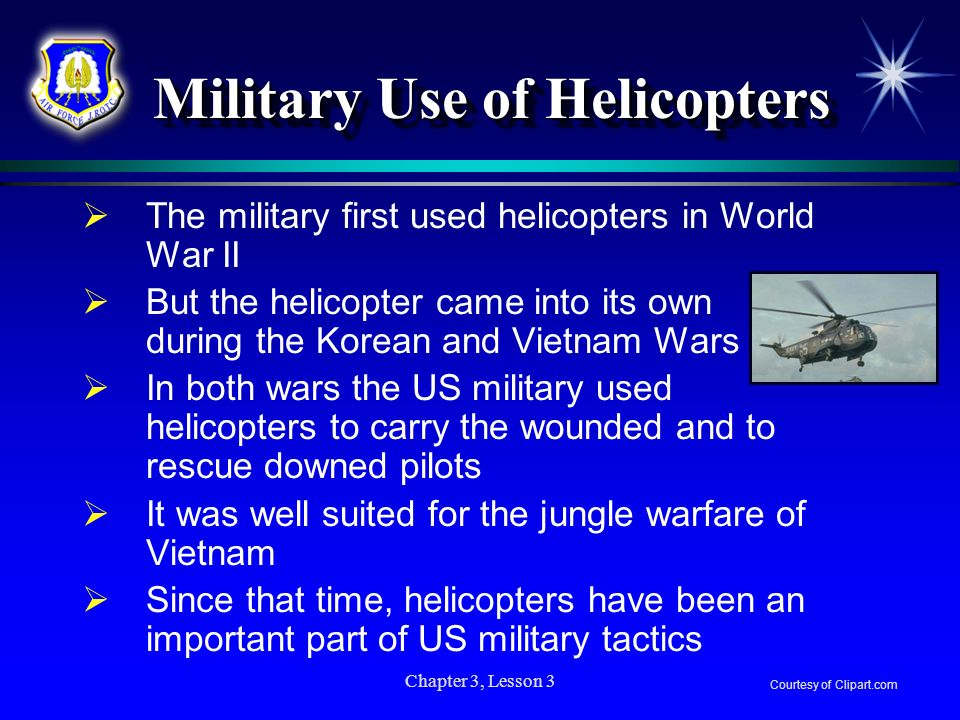 Military Use of Helicopters