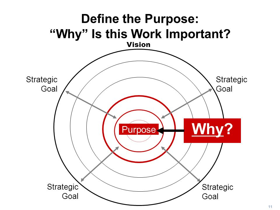 Define the Purpose: Why Is this Work Important