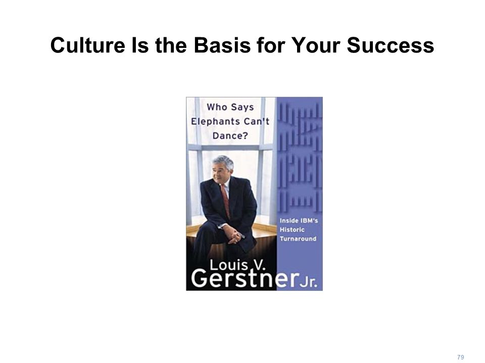 Culture Is the Basis for Your Success