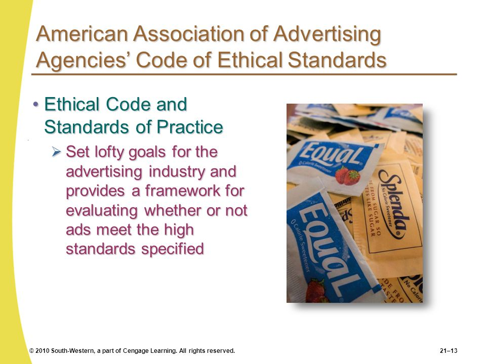 American Association of Advertising Agencies' Code of Ethical Standards
