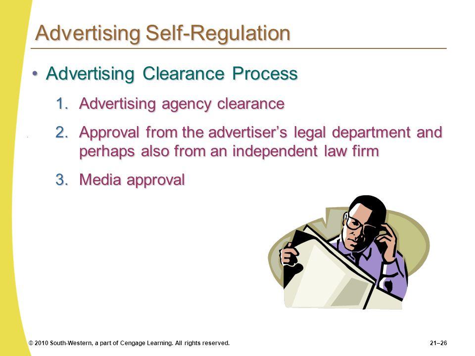 Advertising Self-Regulation