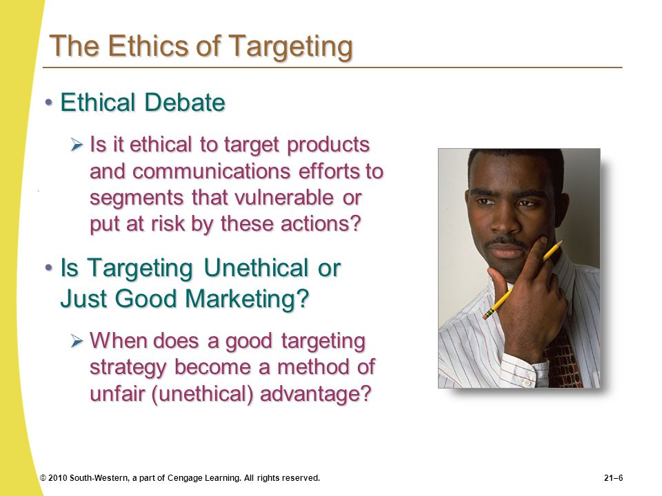 The Ethics of Targeting