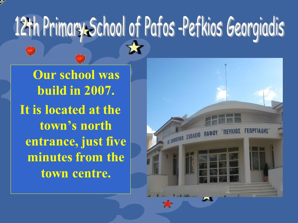 12th Primary School of Pafos -Pefkios Georgiadis