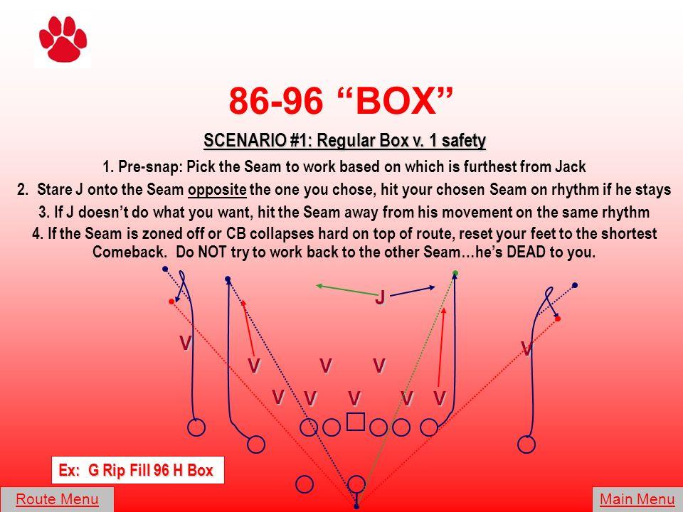 SCENARIO #1: Regular Box v. 1 safety