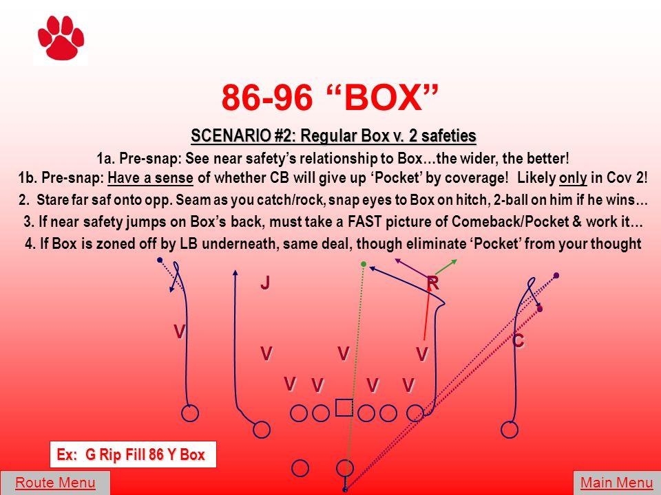 SCENARIO #2: Regular Box v. 2 safeties