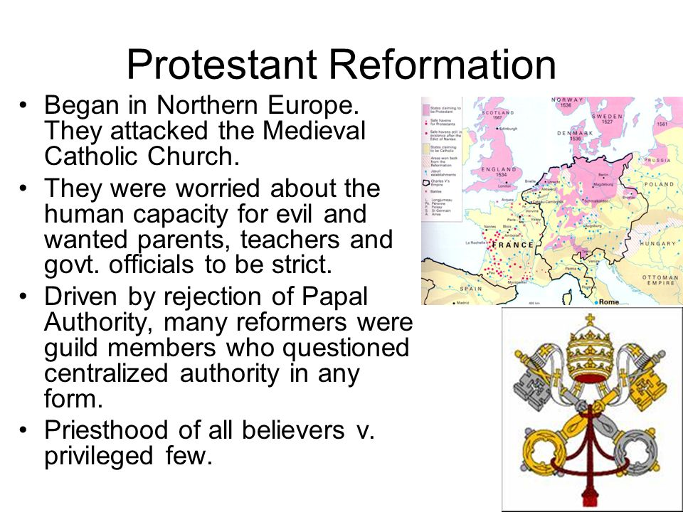 medieval europe papal reformation essay The reformation, which began in germany but spread quickly throughout europe, was initiated in response to the growing sense of corruption and administrative abuse in the church it expressed an alternate vision of christian practice, and led to the creation and rise of protestantism, with all its individual branches.