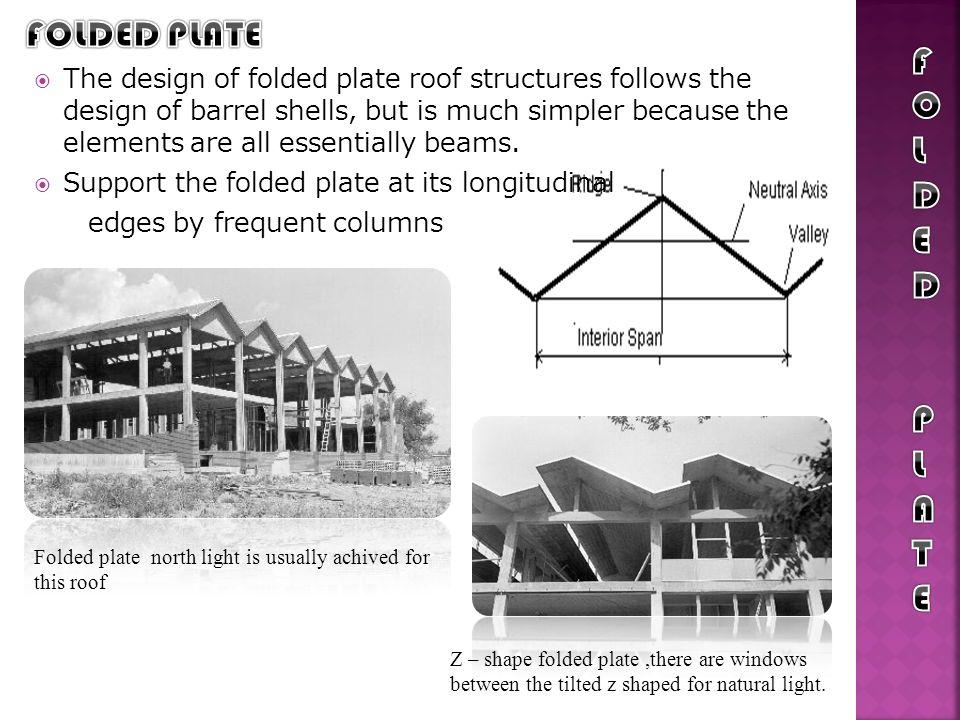 FOLDED PLATE FOLDED PLATE