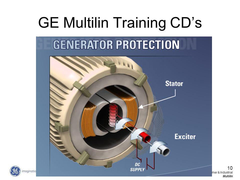 GE Multilin Training CD's