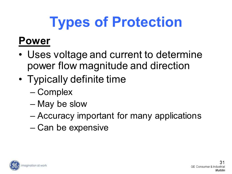 Types of Protection Power