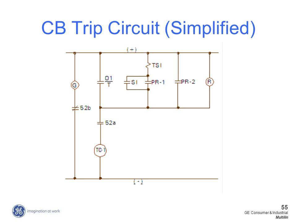CB Trip Circuit (Simplified)
