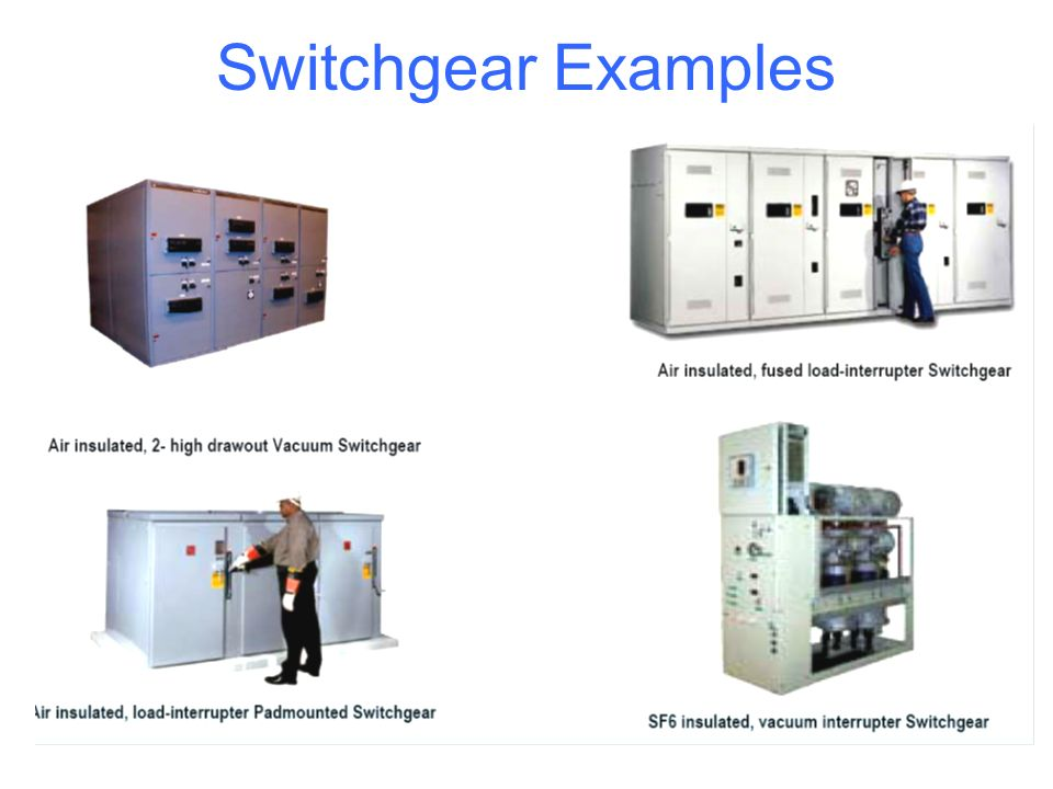 Switchgear Examples