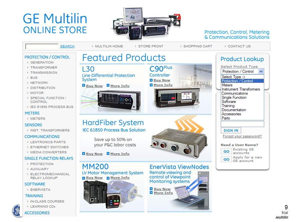 9 GE Consumer & Industrial Multilin