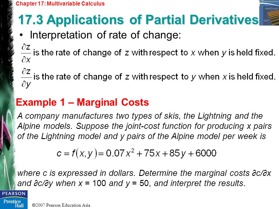 17.3 Applications of Partial Derivatives