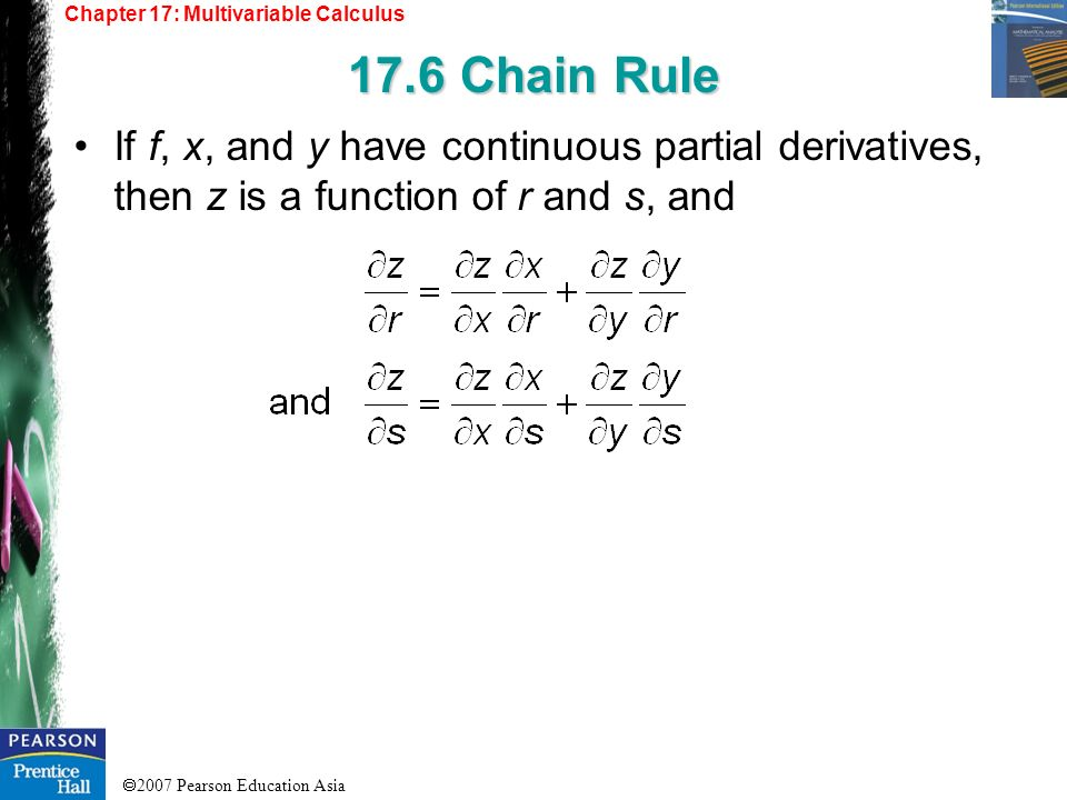 Chapter 17: Multivariable Calculus