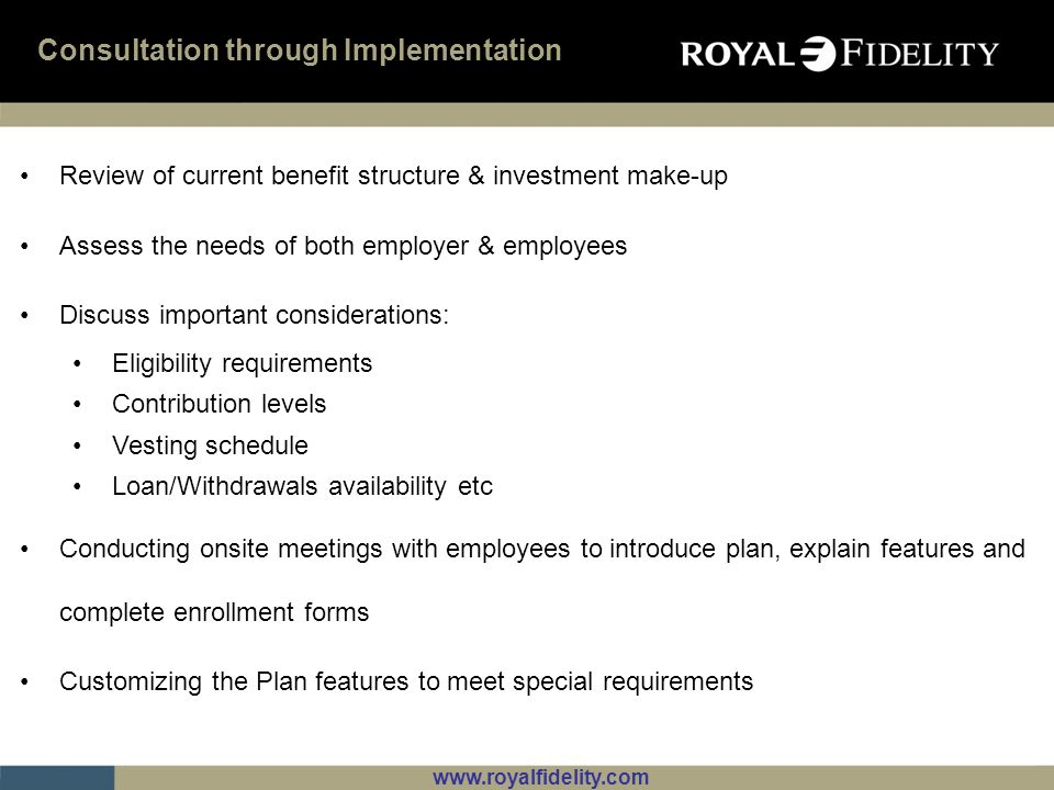 Consultation through Implementation