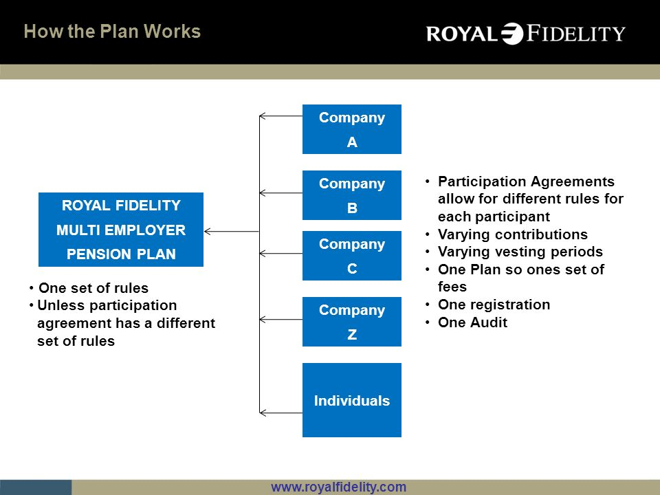 How the Plan Works Company A Company