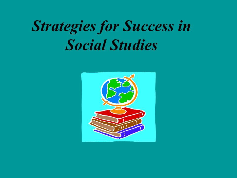 Strategies for Success in Social Studies
