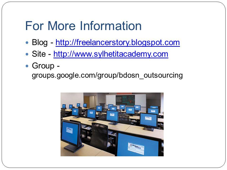 For More Information Blog - http://freelancerstory.blogspot.com