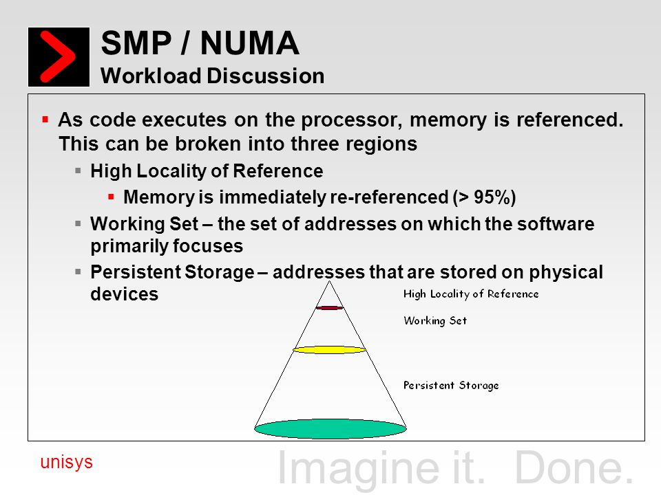 SMP / NUMA Workload Discussion