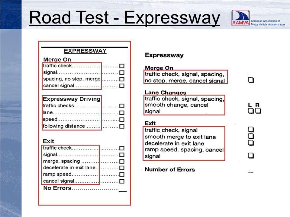 Road Test - Expressway
