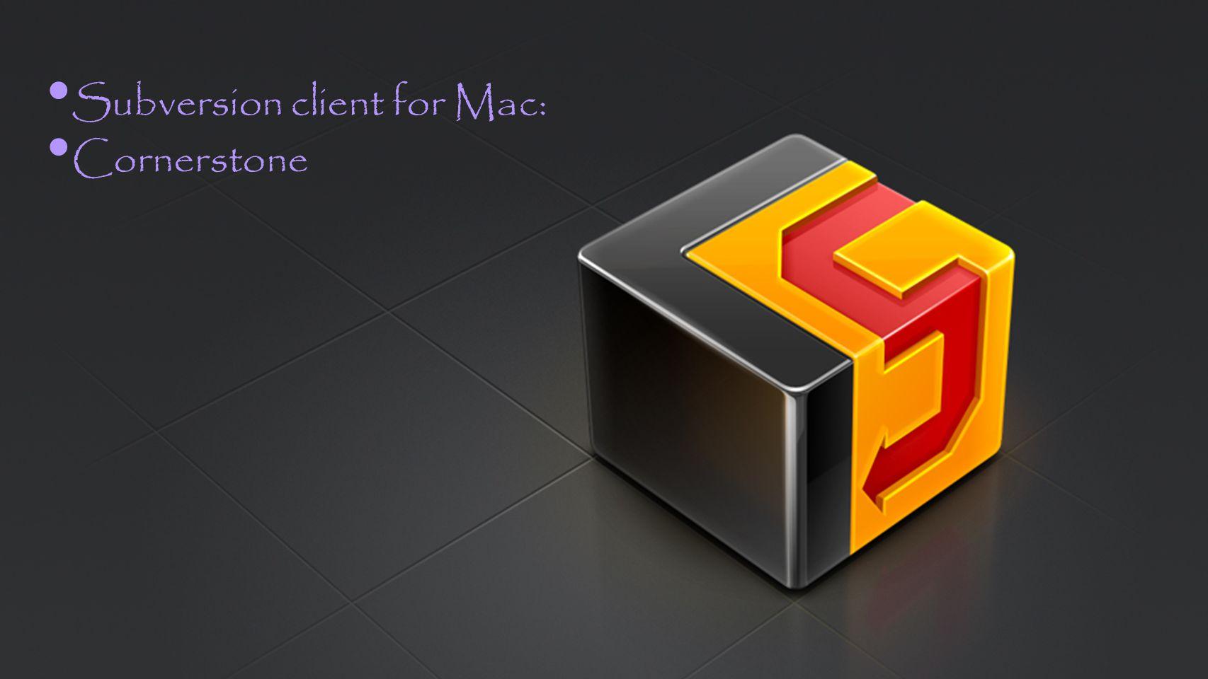 Subversion client for Mac: