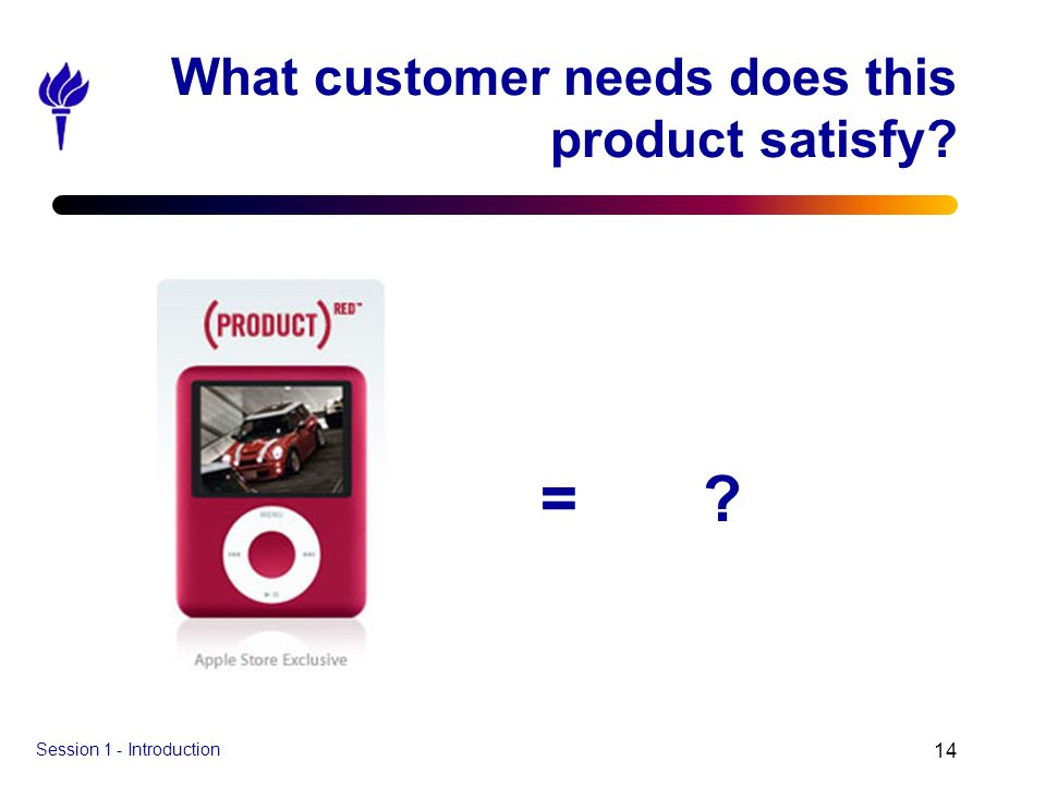 What customer needs does this product satisfy