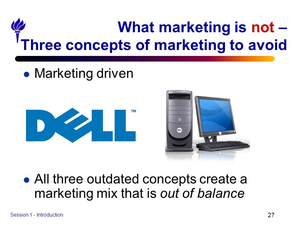 What marketing is not – Three concepts of marketing to avoid