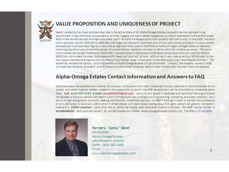VALUE PROPOSITION AND UNIQUENESS OF PROJECT