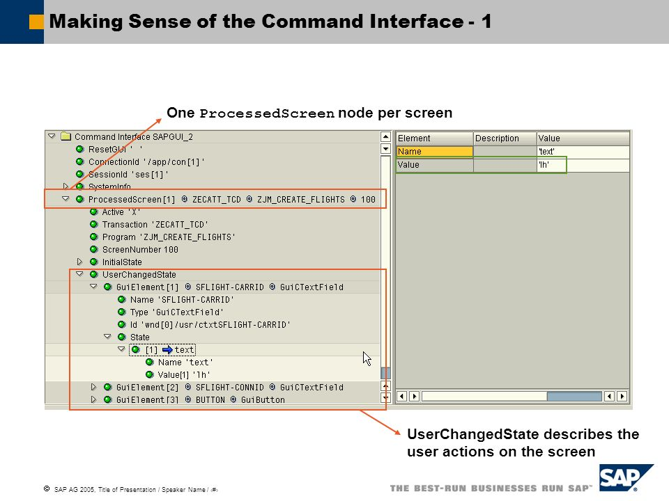 Making Sense of the Command Interface - 1
