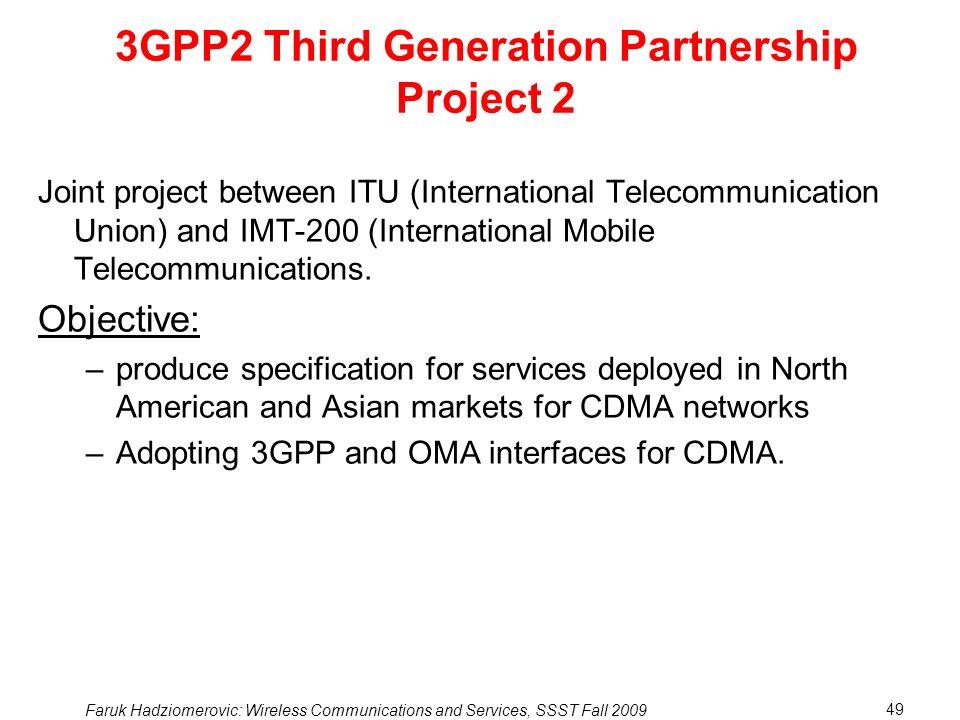 3GPP2 Third Generation Partnership Project 2