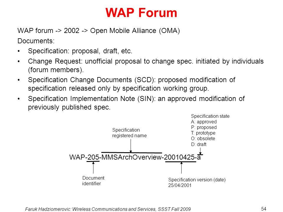 WAP Forum WAP forum -> 2002 -> Open Mobile Alliance (OMA)