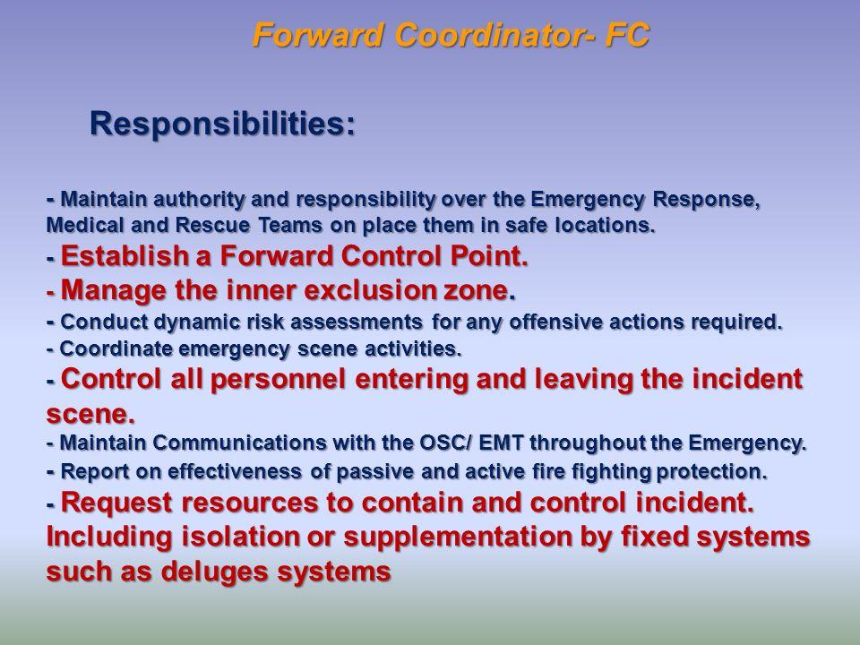 Forward Coordinator- FC
