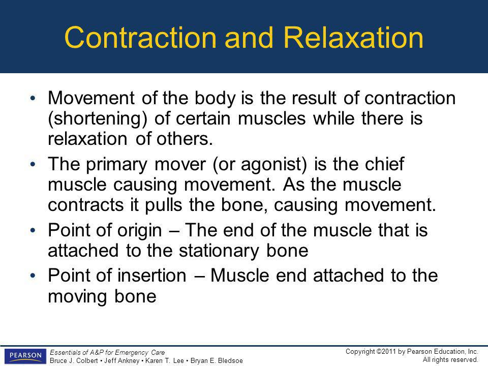Contraction and Relaxation