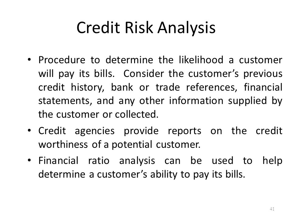 Credit rating agency