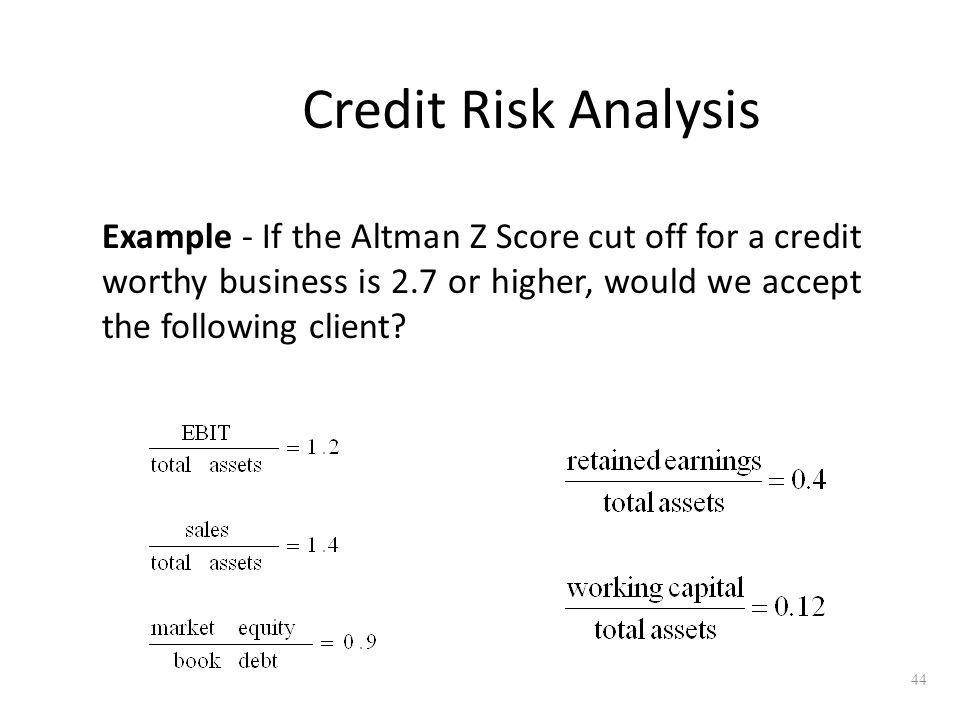 Ratio analysis ppt video online download for Corporate credit analysis template