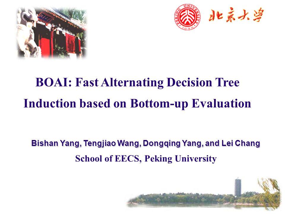 BOAI: Fast Alternating Decision Tree