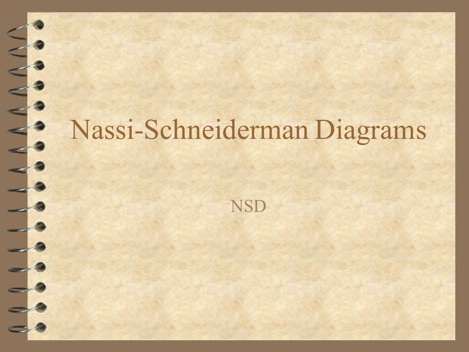 Nassi-Schneiderman Diagrams